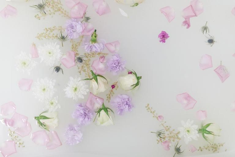 Floral Milk Bath