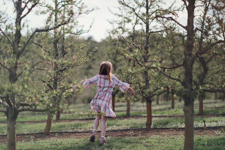 Spring Photography in Raeburn Orchard